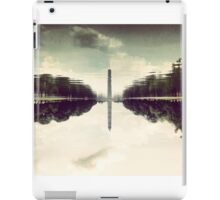 Washington Monument Reflections iPad Case/Skin