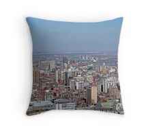 Montreal East end from Mount Royal Throw Pillow