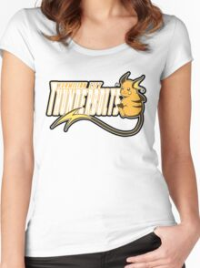 Vermilion City Thunderbolts: Raichu Sports Logo Women's Fitted Scoop T-Shirt