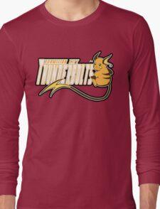 Vermilion City Thunderbolts: Raichu Sports Logo Long Sleeve T-Shirt