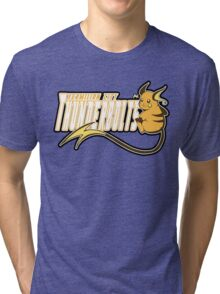 Vermilion City Thunderbolts: Raichu Sports Logo Tri-blend T-Shirt