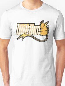 Vermilion City Thunderbolts: Raichu Sports Logo Unisex T-Shirt