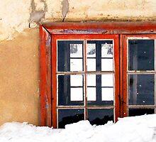 Red Frame by Ritva Ikonen
