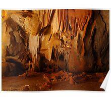 Technicolour Cave, Chillagoe, QLD, Australia Poster