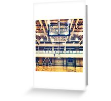 Empty Courts Greeting Card