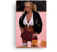 Back to School #1 Canvas Print