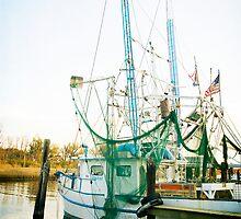 Shrimp Boat at the Harbor by Jonicool