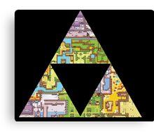 Triforce of Seasons Canvas Print