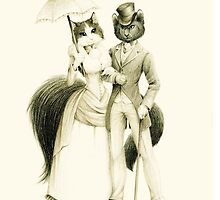 Victorian Cat Series 01 by mirzers