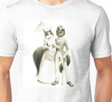Victorian Cat Series 01 Unisex T-Shirt