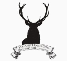 """""""If you can't beat God.."""" - Will Graham / Hannibal  Kids Clothes"""