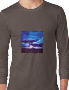 Blue Sunset Long Sleeve T-Shirt