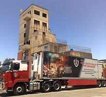 Nsw Fire Brigades Training College by rossco