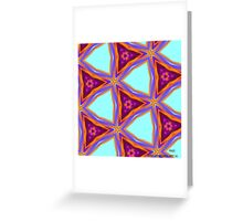 ( RAZI )  ERIC  WHITEMAN   ART  Greeting Card
