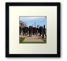 On the Shoulders of Giants Framed Print