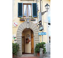 Albergo in Toscana Photographic Print