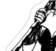 Missed me, Puddin' ? - Harley Quinn  b/w Sticker