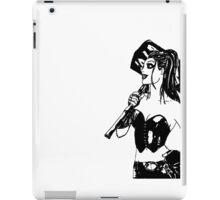 Missed me, Puddin' ? - Harley Quinn  b/w iPad Case/Skin
