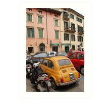Typical Street in Italy Art Print