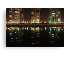 Urban Reflections Canvas Print