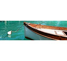 Wooden boat at Rest Photographic Print