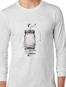 Snoopy fishing Long Sleeve T-Shirt