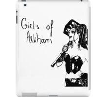 Girls of Arkham - Harley Quinn iPad Case/Skin