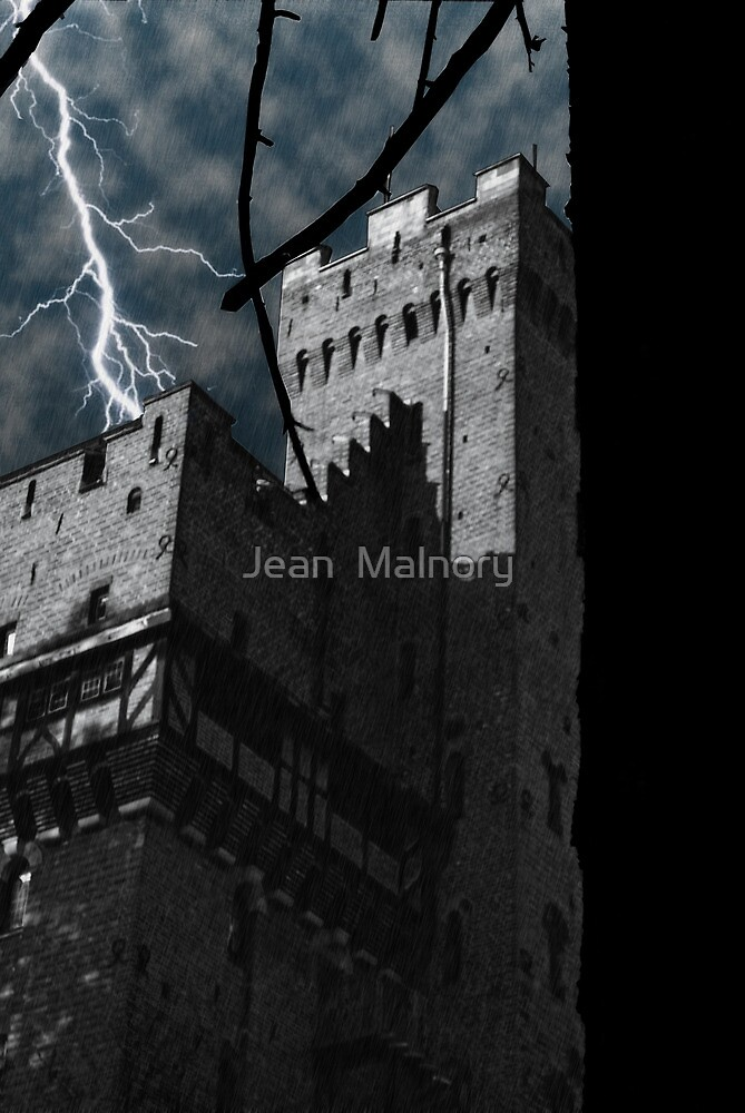 The middle age storm by Jean  Malnory