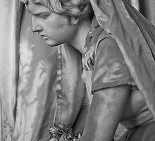 Sadness b/w by Roberto Irace