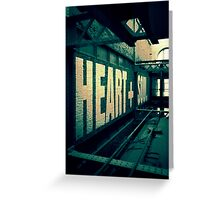 HEART + SOUL Greeting Card