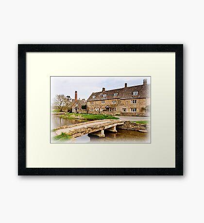 The Mill  Lower Slaughter  Cotswolds  UK Framed Print