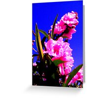 Neon Blossoms! Greeting Card