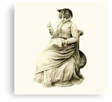 Victorian Cat Series 05 Canvas Print