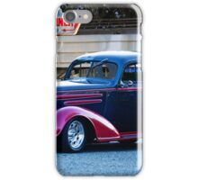 1936 Chevrolet 'Deco Rod' Coupe iPhone Case/Skin