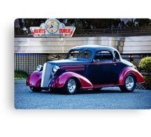 1936 Chevrolet 'Deco Rod' Coupe Canvas Print