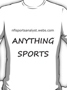 NFL Sports Analyst T-Shirt