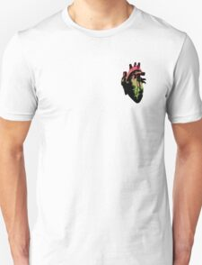 Aroflux Pride Heart (with black detail) T-Shirt