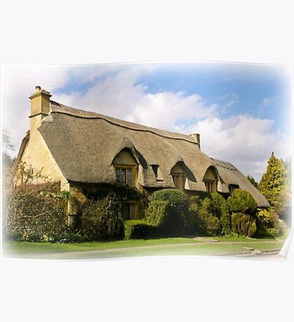 Chipping Campden Cottage  Cotswolds UK  Poster