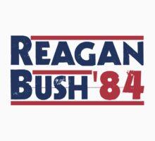 Reagan Bush '84 by evahhamilton