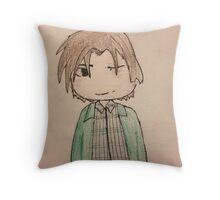 Supernatural Sam 2  Throw Pillow