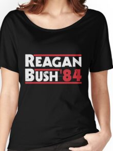 Reagan Bush '84 Women's Relaxed Fit T-Shirt