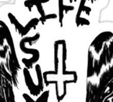 Wavves- life sux Sticker