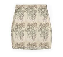 Elephant Headdress  Mini Skirt