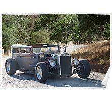 1928 Chevrolet 'Backwoods Rat' Sedan Poster