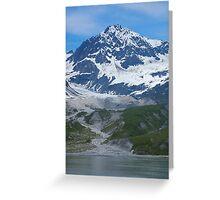 Glacier Bay Alaska  Greeting Card