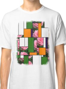 Pink Roses in Anzures 2 Art Rectangles 5 Classic T-Shirt