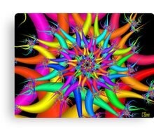 Multi-Spark Canvas Print