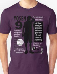 Murasakibara Atsushi Quotes T-Shirt