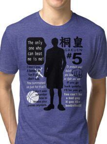 Aomine Daiki Quotes Tri-blend T-Shirt