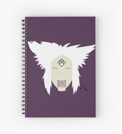 Chikamatsu's Collection of Ten Puppets 8 Spiral Notebook